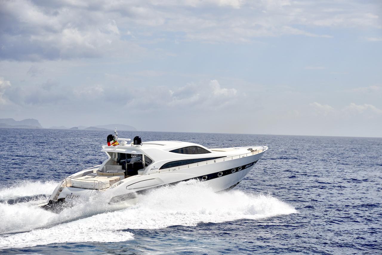 Alfamarine 78 Nautic Blue event